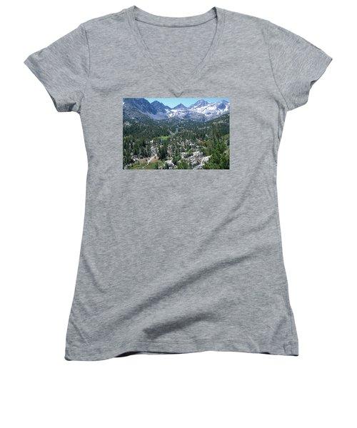 The John Muir Trail Women's V-Neck T-Shirt