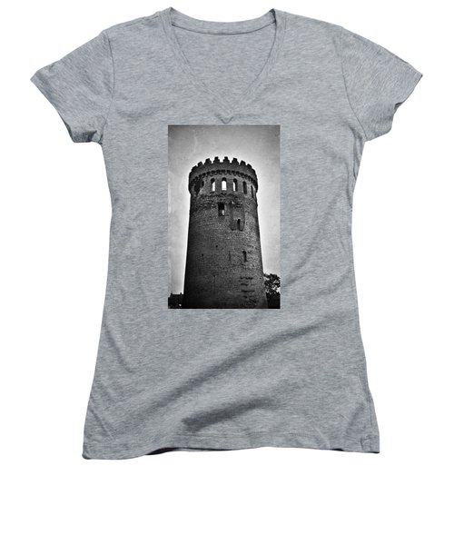 The Keep At Nenagh Castle In Nenagh Ireland Women's V-Neck