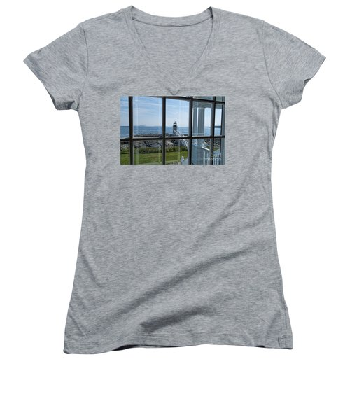 The Keeper's View Women's V-Neck T-Shirt