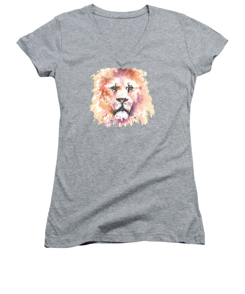The King T-shirt Women's V-Neck (Athletic Fit)