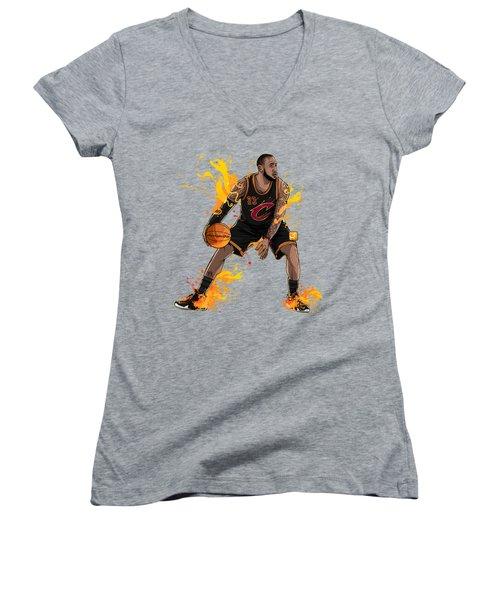 The King James Women's V-Neck T-Shirt