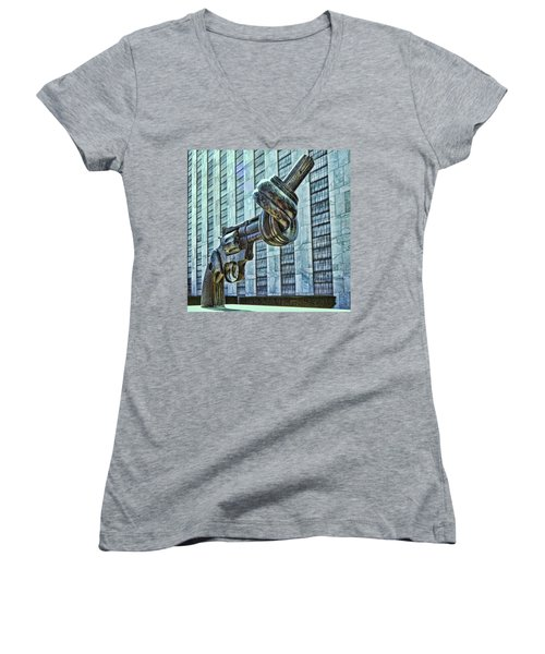 The Knotted Gun Women's V-Neck