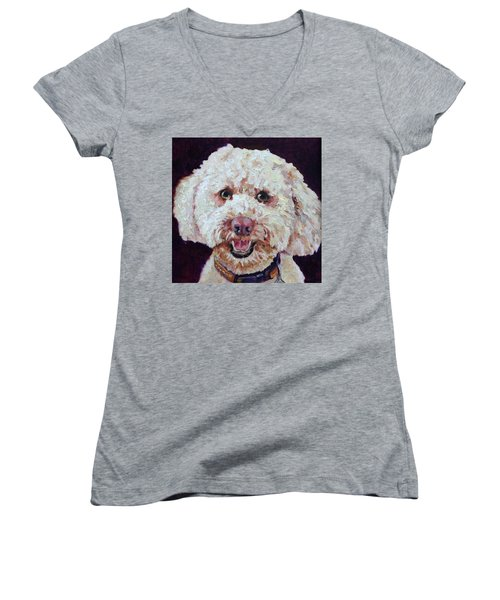 The Labradoodle Women's V-Neck