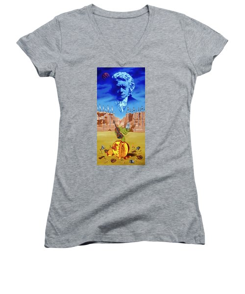 The Last Soldier An Ode To Beethoven Women's V-Neck