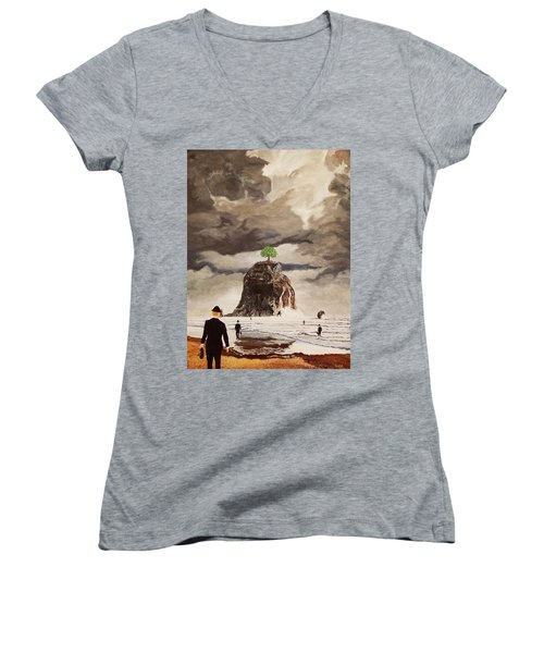 The Last Tree Women's V-Neck