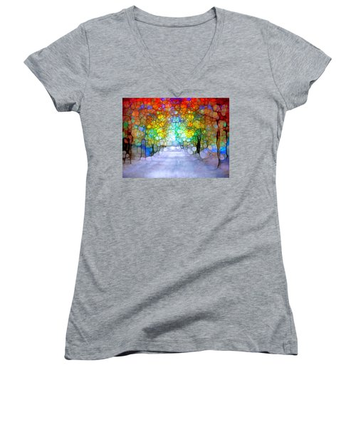 The Laughing Forest Women's V-Neck