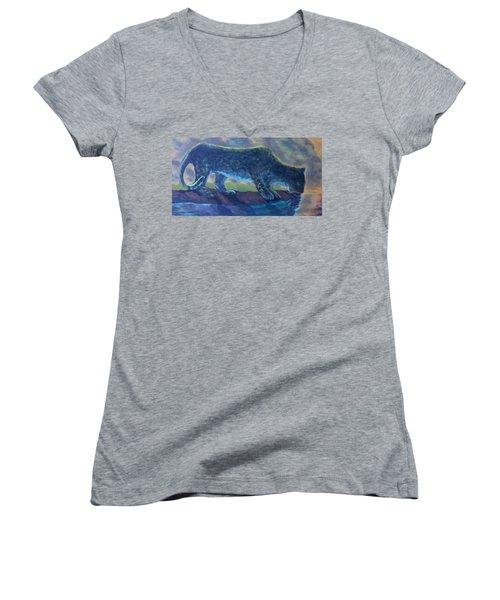 The Leopard Women's V-Neck T-Shirt