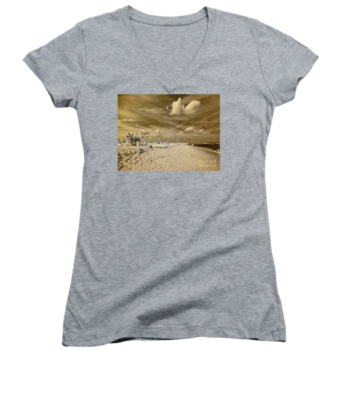 The Lifeguard Stand Women's V-Neck