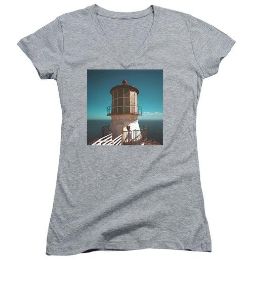 The Lighthouse Women's V-Neck
