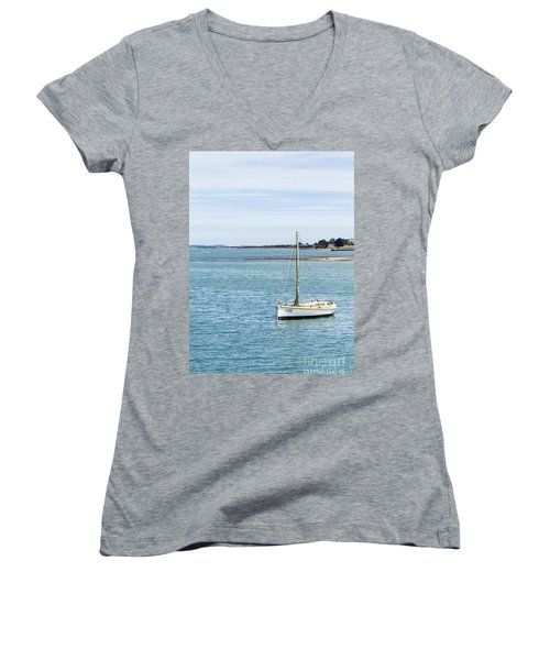 The Little Boat Women's V-Neck (Athletic Fit)