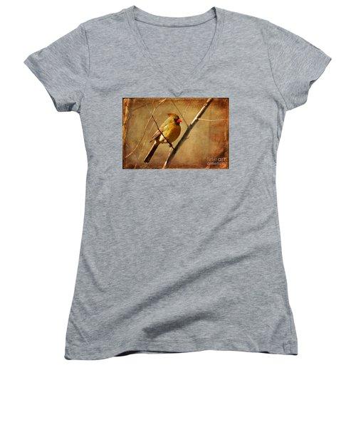 The Little Mrs. Women's V-Neck T-Shirt