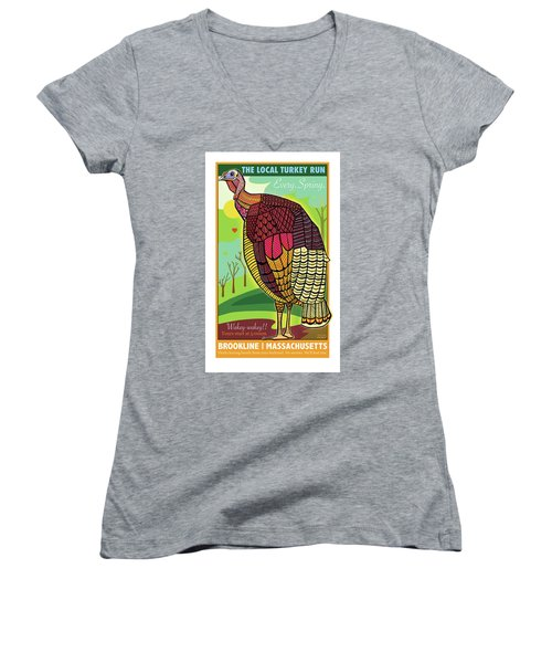 The Local Turkey Run Women's V-Neck
