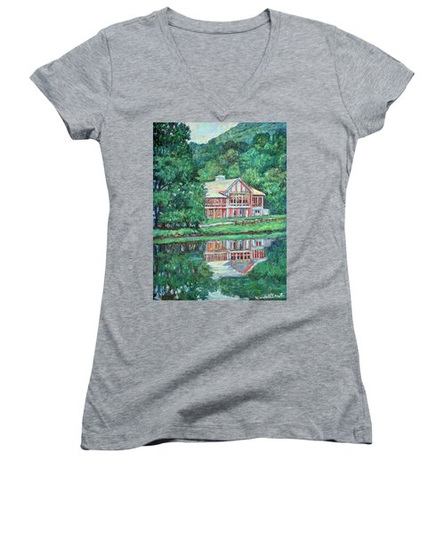 The Lodge At Peaks Of Otter Women's V-Neck