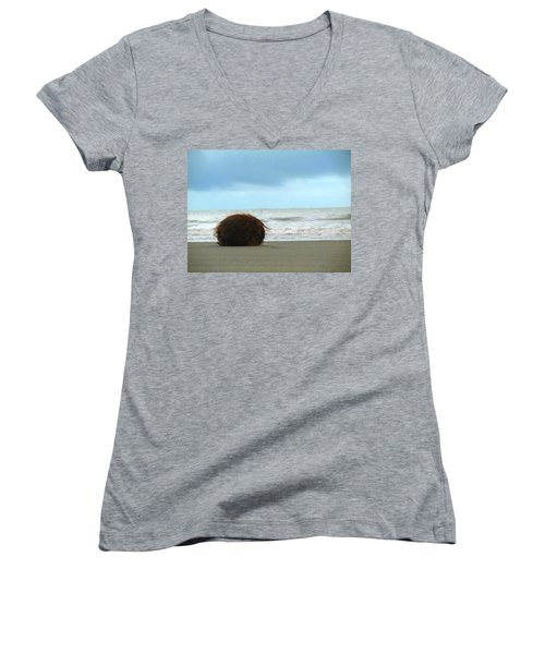 The Lonely Coconut Women's V-Neck