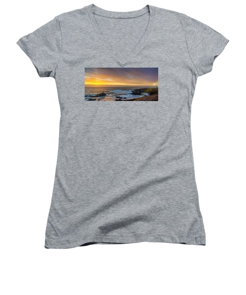 The Long View Women's V-Neck (Athletic Fit)