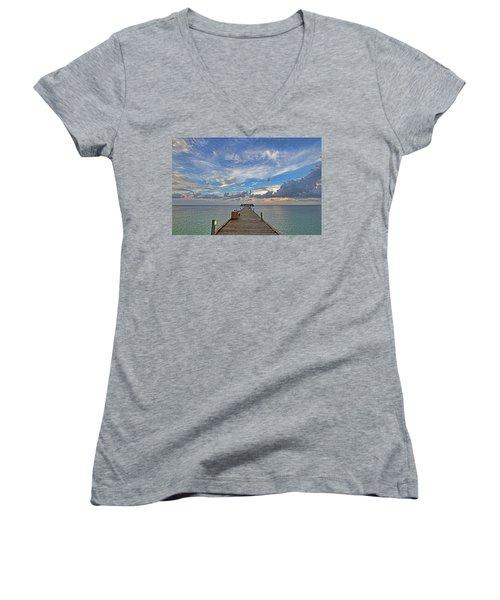 The Long Walk Women's V-Neck T-Shirt