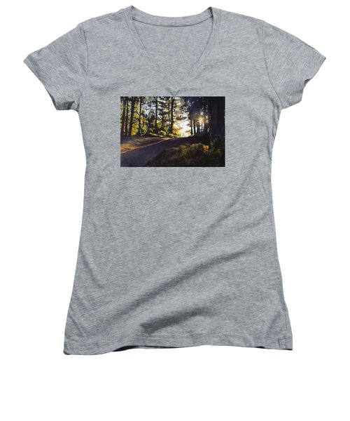 The Long Way Home Women's V-Neck