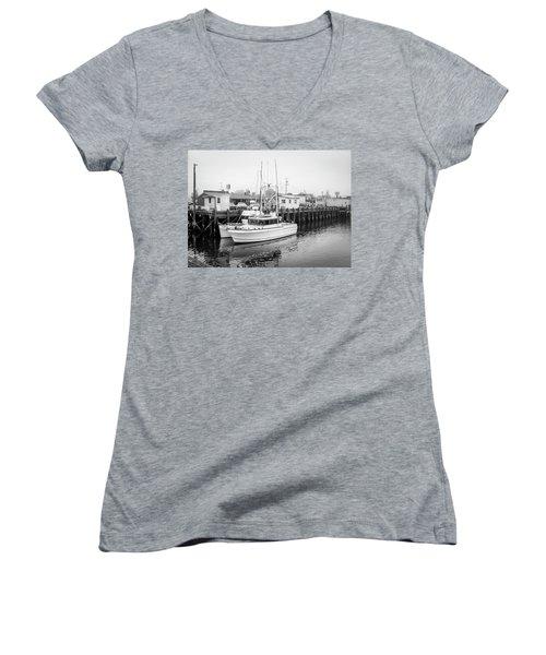 The Lorabee-1979 Women's V-Neck T-Shirt