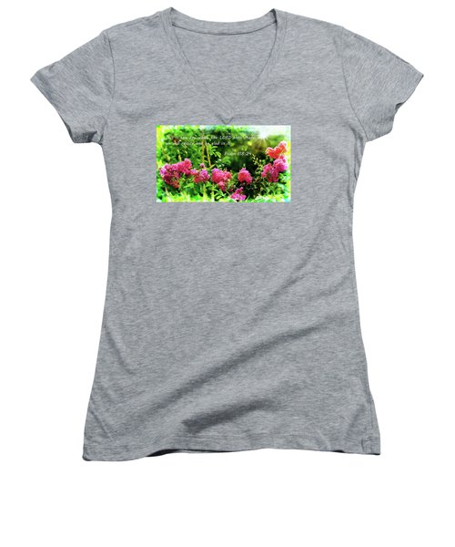 The Lord Hath Made Women's V-Neck T-Shirt