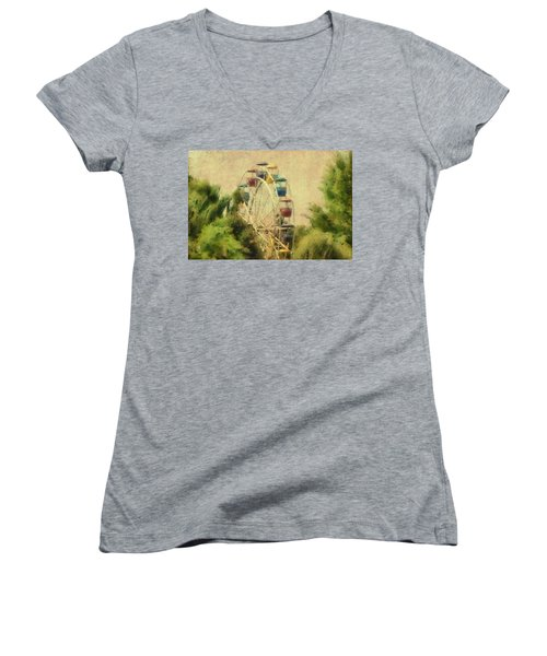 The Lover's Ride Women's V-Neck T-Shirt
