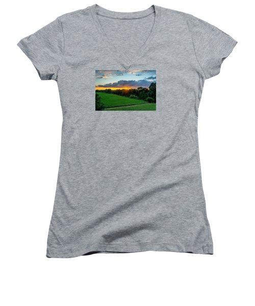 The Lower Rhine Region Women's V-Neck T-Shirt