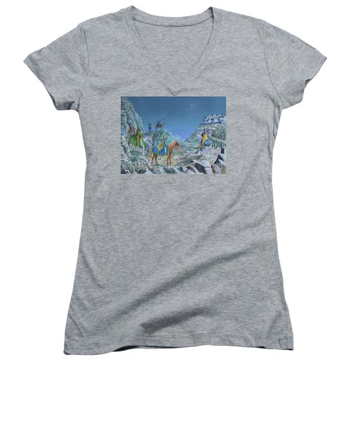 The Magi Women's V-Neck T-Shirt