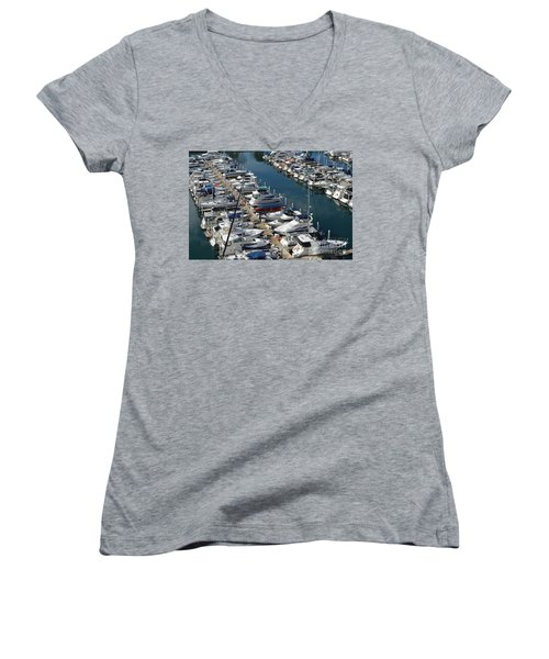The Marina Women's V-Neck (Athletic Fit)