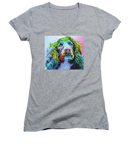 The Master Of Game Women's V-Neck T-Shirt