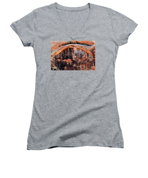 The Eye Of The Demon Women's V-Neck T-Shirt