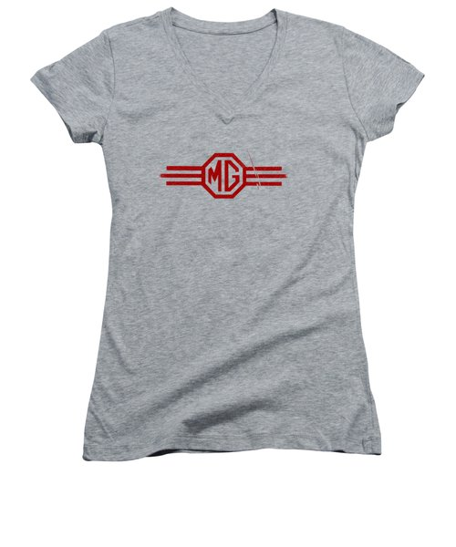 The Mg Sign Women's V-Neck (Athletic Fit)