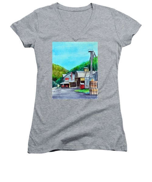 The Mill At Shade Gap II Women's V-Neck T-Shirt