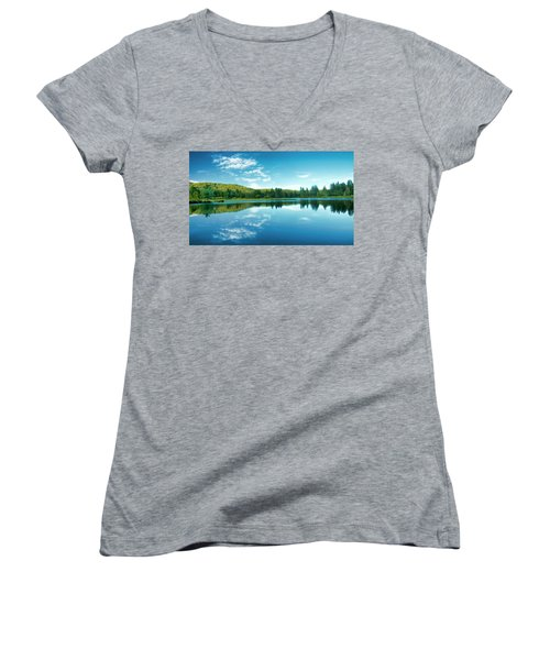The Mill Pond  Women's V-Neck