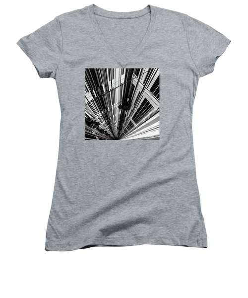 The Mirror Room Women's V-Neck (Athletic Fit)