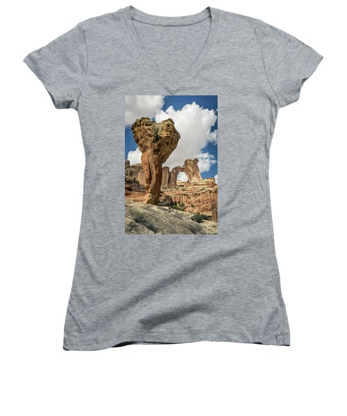 The Molar And Angel Arch Women's V-Neck