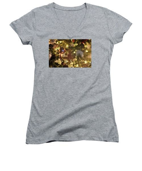 The Most Important Tree Women's V-Neck T-Shirt (Junior Cut) by John Glass