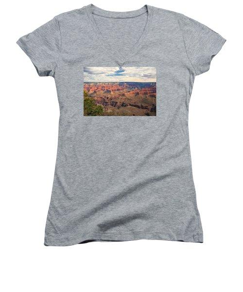 The Natives Holy Site Women's V-Neck T-Shirt