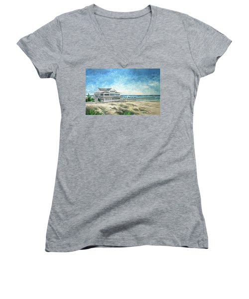 The Oceanic Women's V-Neck (Athletic Fit)