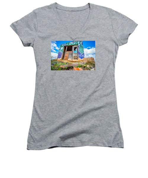 The Old Abode. Women's V-Neck