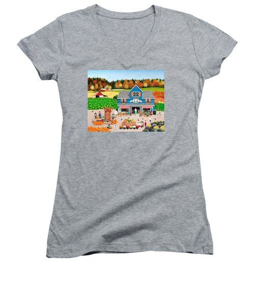The Old Country Store Women's V-Neck (Athletic Fit)