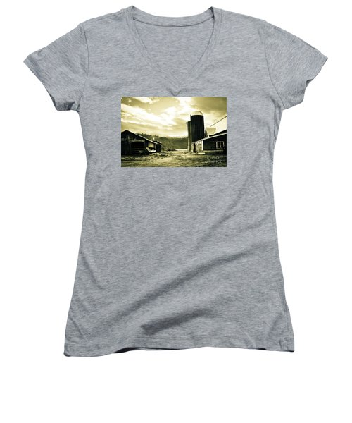 The Old Farm Women's V-Neck
