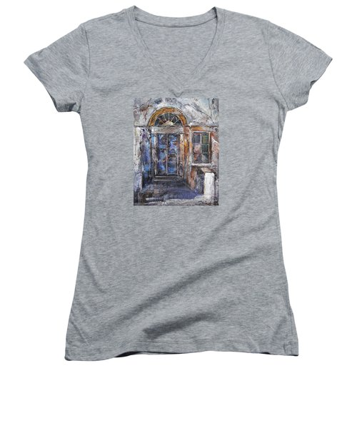 The Old Gate Women's V-Neck (Athletic Fit)
