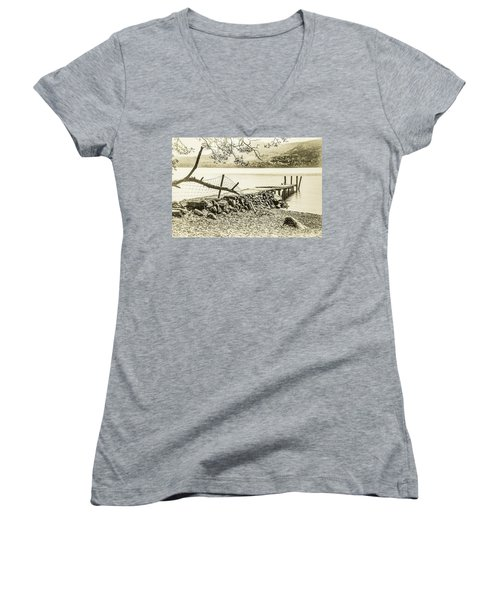 The Old Jetty Women's V-Neck