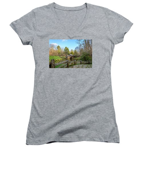 The Old Mill Women's V-Neck