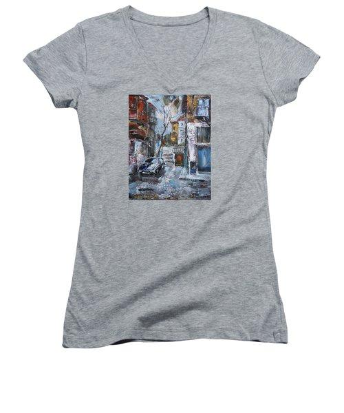 The Old Quarter Women's V-Neck T-Shirt