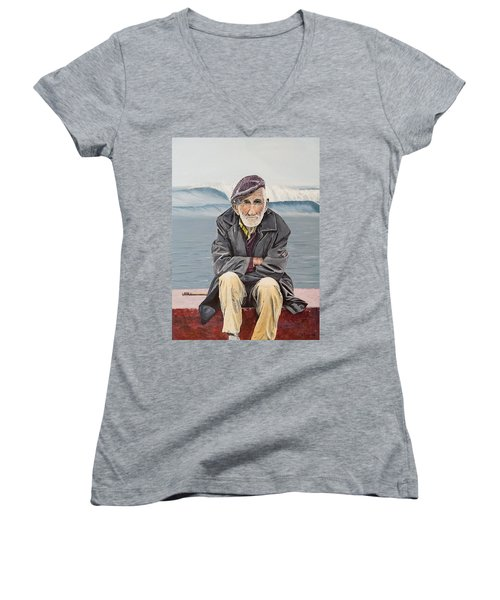 The Old Waterman Women's V-Neck