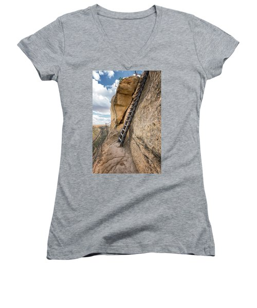 The Only Way Out Women's V-Neck