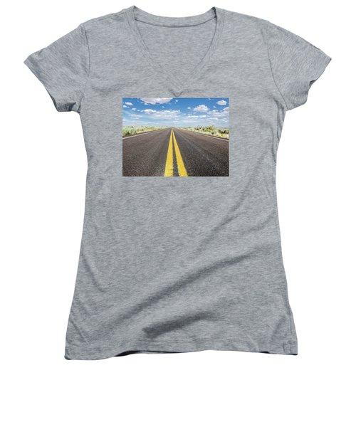 The Open Road Women's V-Neck