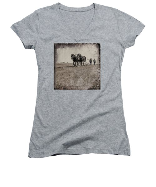 The Original Horsepower Women's V-Neck