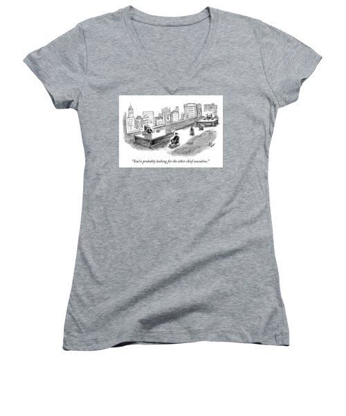 The Other Chief Executive Women's V-Neck