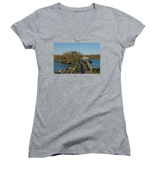 The Other Side Women's V-Neck